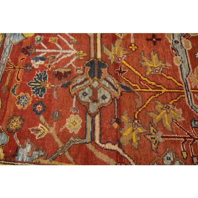 "Islamic Vintage Persian Tribal Bakshaish Rug, 7'4"" X 9'4"" For Sale - Image 3 of 11"