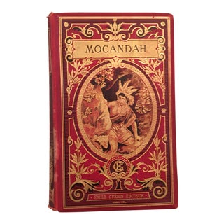 1890s Antique French Mocandah, by L. Ballieul, Illustrated For Sale