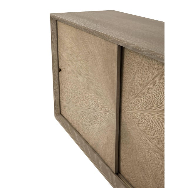 Not Yet Made - Made To Order Mid-century Oak Sideboard | Eichholtz Lazarro For Sale - Image 5 of 9