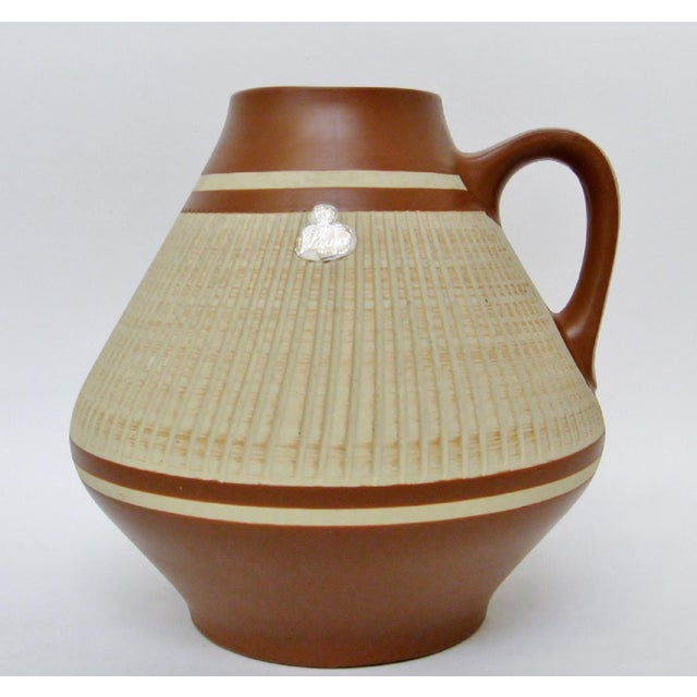 Ceramic West German Ceramic Vase For Sale - Image 7 of 7