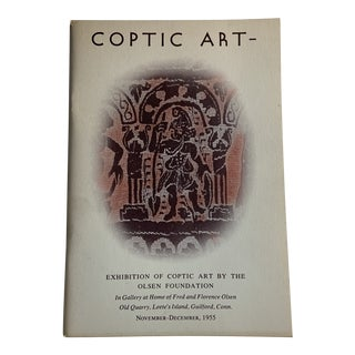 1955 Coptic Art Olsen Foundation Book For Sale