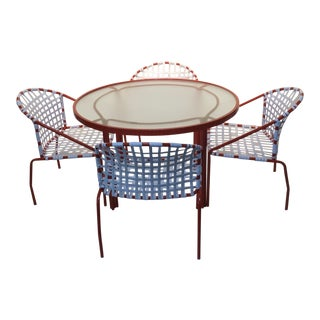 1960s Vintage Brown Jordan Patio Set - 5 Pieces For Sale