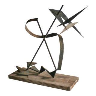 Calder-Style Brutalist Sculpture For Sale