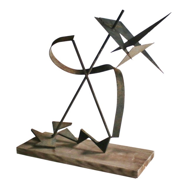Calder-Style Brutalist Sculpture For Sale