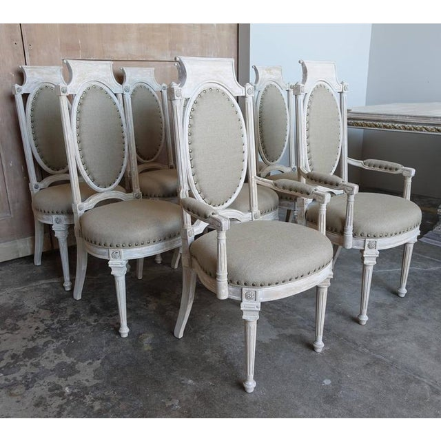 Italian Style Dining Chairs - Set of 8 - Image 3 of 10
