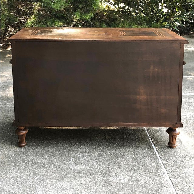 Antique Italian Marquetry Commode For Sale - Image 12 of 13