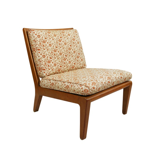 """Mid-Century Modern Mid Century Edward Wormley Drexel """"Precedent"""" Slipper Chairs - a Pair For Sale - Image 3 of 8"""