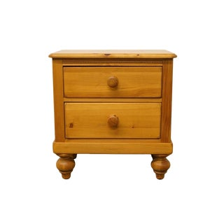 "Lexington Solid Pine Country French 24"" Nightstand For Sale"