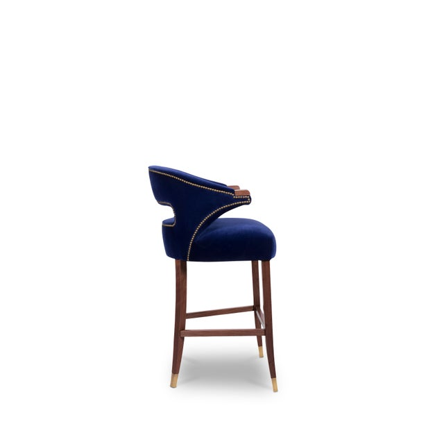 Not Yet Made - Made To Order Nanook Bar Chair From Covet Paris For Sale - Image 5 of 7