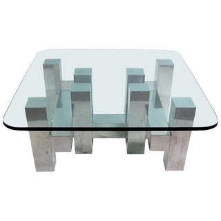 Cityscape Style Coffee Table by Paul Mayen for Habitat For Sale
