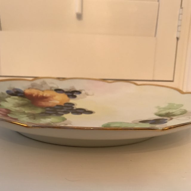 Early 20th Century Antique French Limoges Plate For Sale - Image 10 of 11