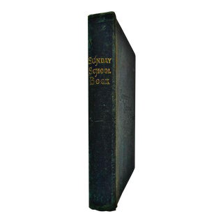 1896 Sunday School Book For Sale