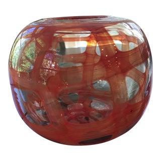 Hand Blown Glass Vessel