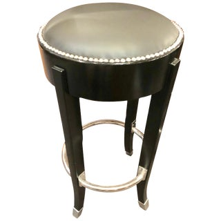 French Art Deco Style Bar Stool For Sale