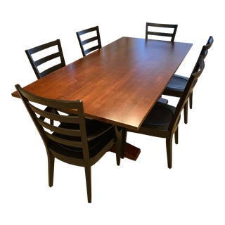Ethan Allen Cameron Dining Set - 7 Pieces For Sale