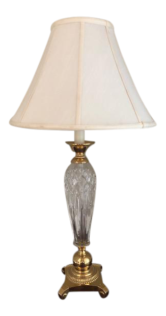 Vintage Waterford Crystal Table Lamp Chairish