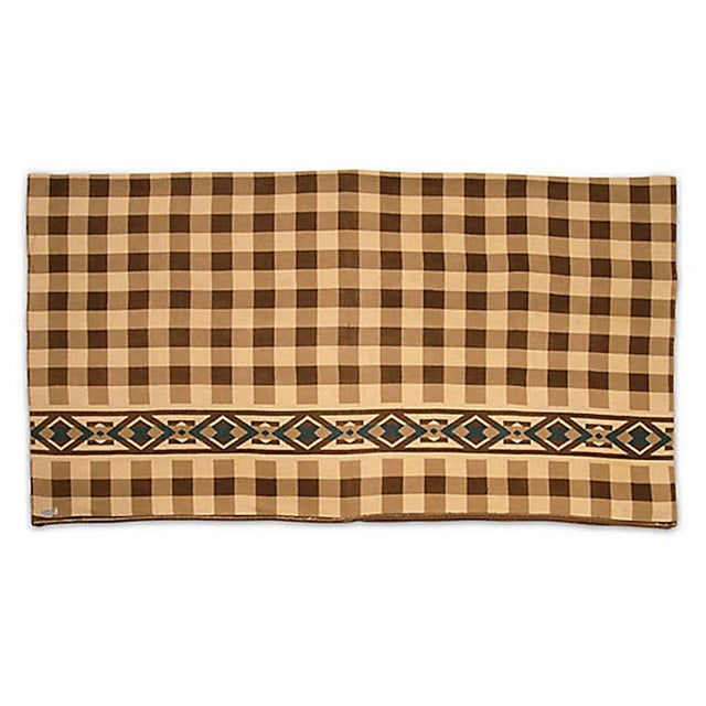 Checkered Camp Blanket - Image 5 of 6