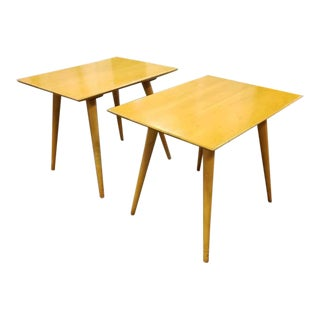 Mid-Century Paul McCobb Planner Group End Tables - a Pair For Sale
