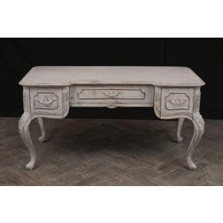 Traditional Louis XV-Style Distressed Finish Desk Preview