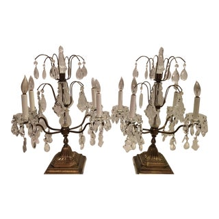 1940s Neoclassical 1940's French Style Girandoles - a Pair For Sale