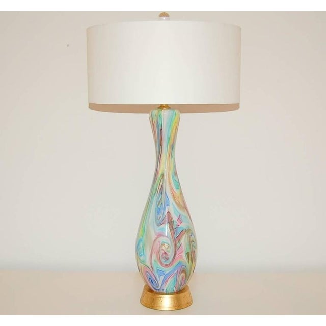 Fratelli Toso Fratelli Toso Vintage Murano Glass Table Lamps For Sale - Image 4 of 10
