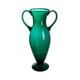 French 1940's Vintage Glass Vase