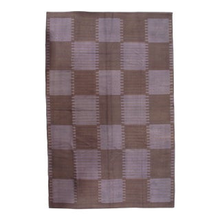 Pasargad NY Scandinavian Design New Zealand Overdyed Wool Rug - 6′ × 9′