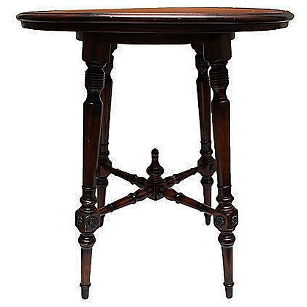 Spanish Colonial Style Game Table & Chairs Set - Set of 5 - Image 6 of 11