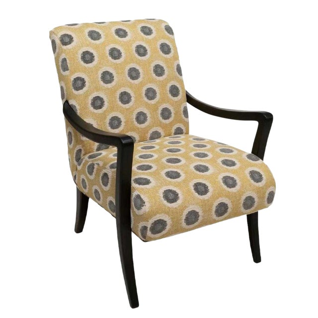 Sam Moore Hooker 'Dante' Exposed Wood Chair For Sale