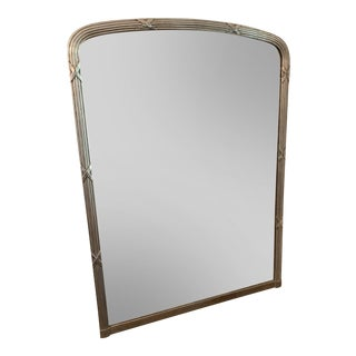 19th Century French Silver Gilt Mirror For Sale