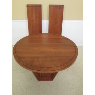 Stickley 21st Century Collection Round Cherry Dining Room Table Preview