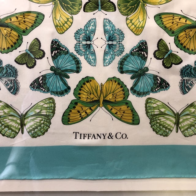 Textile Original Tiffany Scarf in Modern Case For Sale - Image 7 of 13