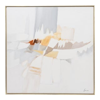 Abstract Oil on Canvas by Robert Lawson 1970