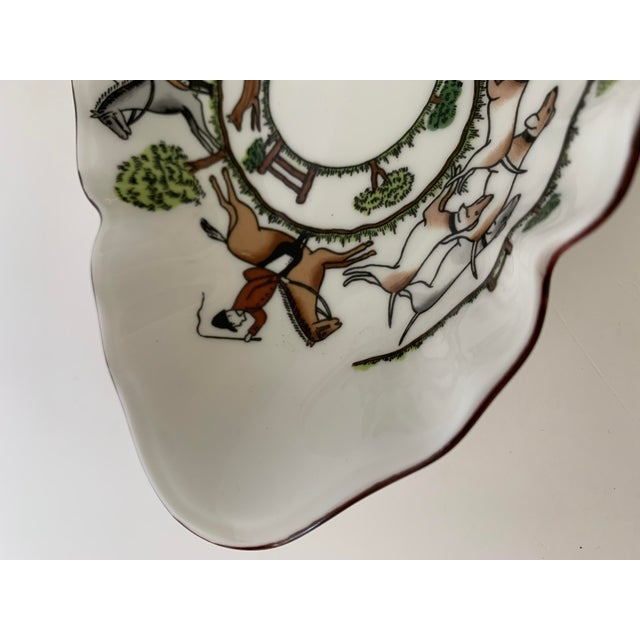 Staffordshire Hunting Scene Bowl For Sale In New York - Image 6 of 11