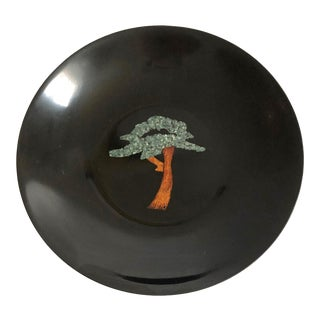 Vintage Couroc Tree Tray For Sale