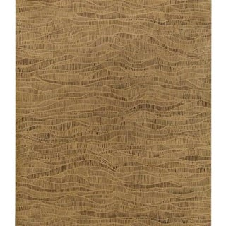 Cole & Son Meadow Wallpaper Roll - Bronze And Soot For Sale