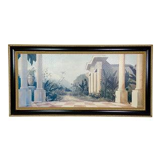 Classical Italian Neutral Mural For Sale