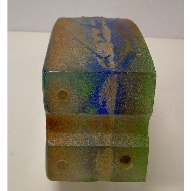 Stephanie Trenchard Blown & Cast Glass Sculpture For Sale - Image 5 of 6