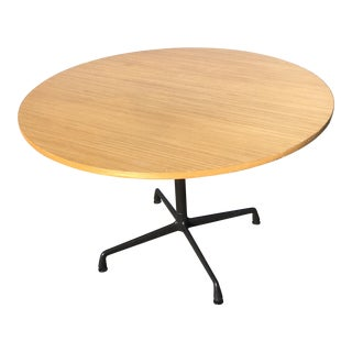 Herman Miller Wooden Round Table