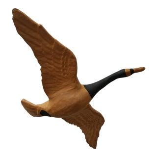 Vintage Paper Mache Hanging Goose Figure For Sale