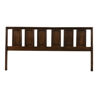 Broyhill Emphasis Mid-Century Modern King Size Headboard For Sale
