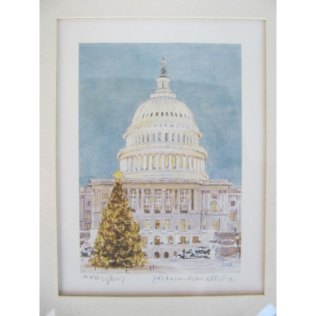 Christmas at the Capitol, Artist Proof - Image 3 of 8