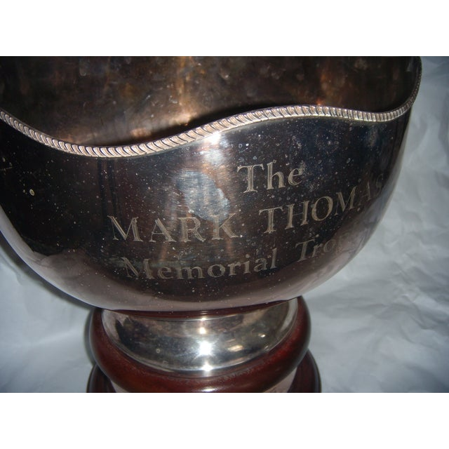 The Mark Thomas Memorial Cricket Trophy For Sale - Image 4 of 8