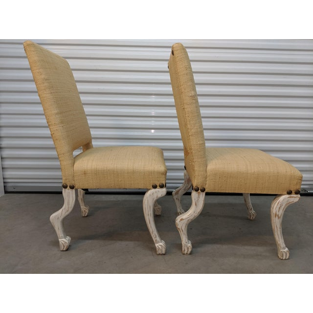 2010s John Dickinson Style Chairs- A Pair For Sale - Image 5 of 12