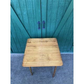 1950s Vintage Maple Folding Table Preview