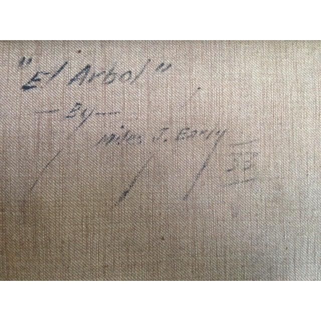 """""""El Arbol"""" Oil Painting by Miles J. Early - Image 5 of 6"""