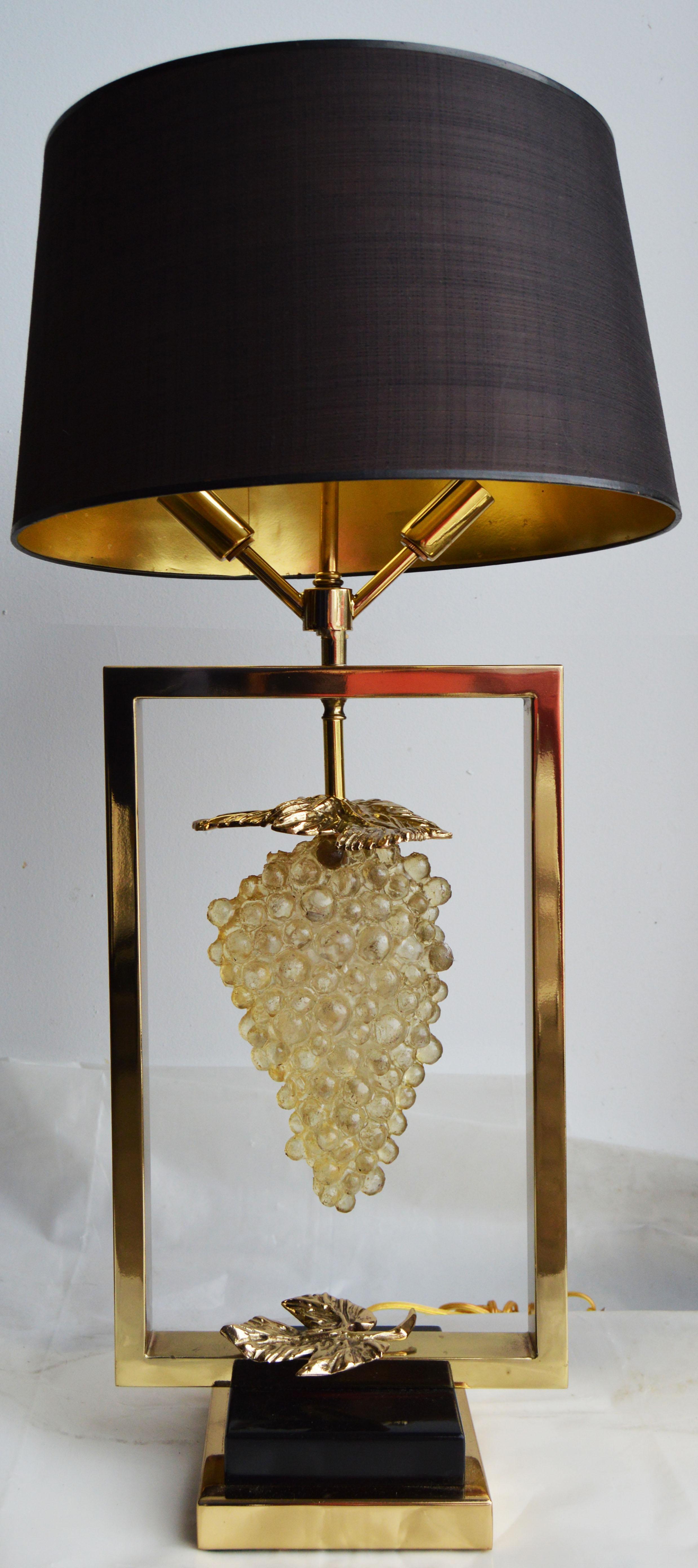 Vintage Maison Lancel Paris Table Lamp   Image 2 Of 6