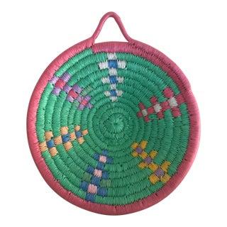African Pastel Grain Basket