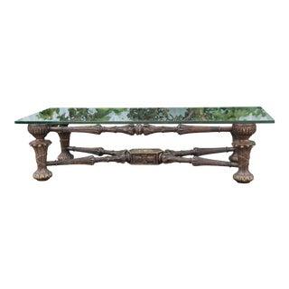 Wood Spanish Coffee Table