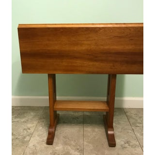 Stickley Solid Cherry Drop Leaf Side Table Preview